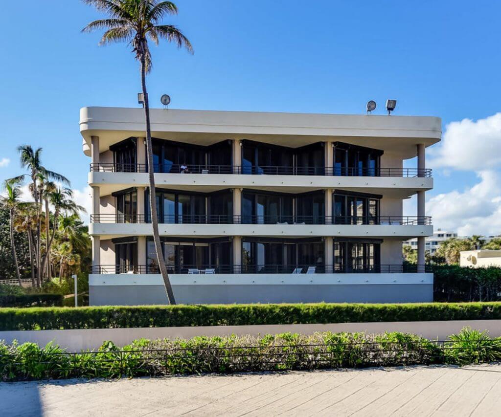 Impact Windows installed at a beach house in Palm Beach Gardens