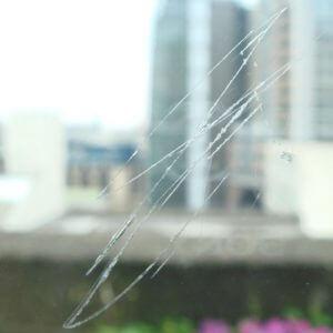 impact glass scratch removal service