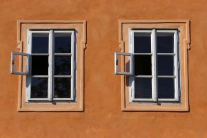 Signs You Need to Replace Your Doors. Twin windows side-by-side