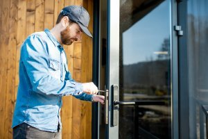 Impact Glass Door